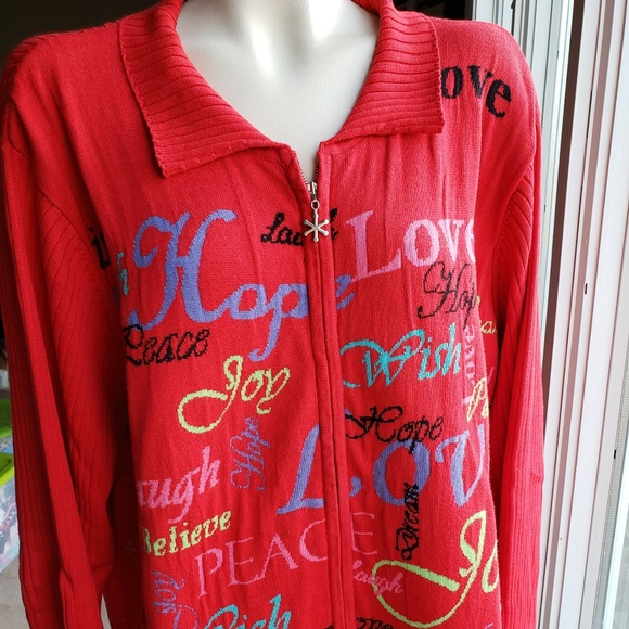 Coldwater Creek Sweaters - Coldwater Creek Holiday Sweater